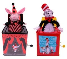 Two designs of the Jack-In-the-Box type toys are included in this recall, both of which play Pop Goes the Weasel when the crank is turned. Description from wemakeitsafer.com. I searched for this on bing.com/images