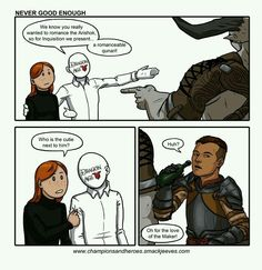 I really hope Krem will be in DA 4... and it would be absolutely awesome, if he was a romance option.