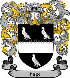 Page family coat of arms - Google Search