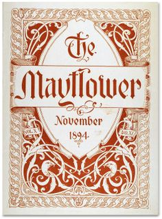 Letterology: Mayflower Power