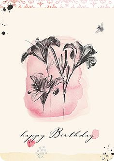 Birthday postcard by Susi Winter Cards