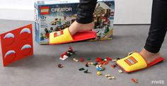 Every Parent of a LEGO Lover Should Own These Slippers  - CountryLiving.com