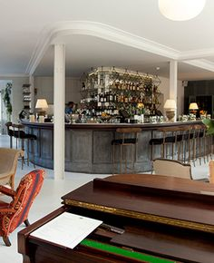 new bars in london - Bourne and Hollingsworth