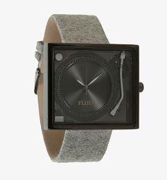 reputable site 8603c b5063 Flud   TABLETURNS (black light melton) - Turntable Watch
