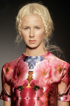 SS14 by Dorhout Mees at Amsterdam Fashion Week. 'La Belle Epoque'