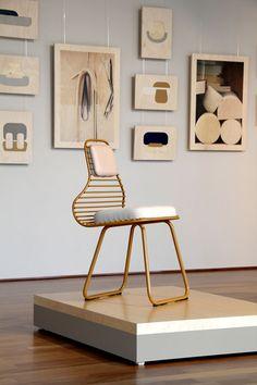 'Chair 01' by Daphna Laurens exhibited at Passionwege, Vienna Design Week