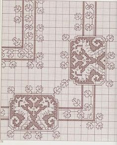 Great collection of patterns point in Assisi Just Cross Stitch, Cross Stitch Borders, Cross Stitch Charts, Cross Stitch Designs, Cross Stitching, Cross Stitch Patterns, Motifs Blackwork, Blackwork Embroidery, Cross Stitch Embroidery