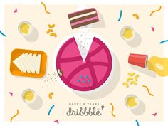 Five Years of Dribbble