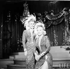Marilyn Monroe and Jane Russell in Gentleman Prefer Blondes