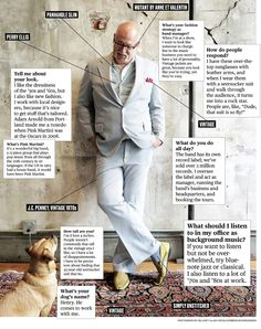 What I Wear to Work: Music Manager William Tennant - William Tennant, is manager of the band Pink Martini in Portland, Ore. Work Music, Pink Martini, Top Sunglasses, Fashion Marketing, Perry Ellis, Seersucker, What I Wore, Portland, Work Wear