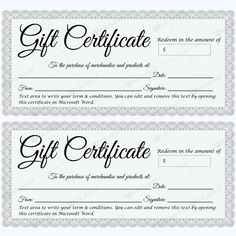 Click here for full size printable gift certificate gift beautiful formal gift certificate template in silver giftcertificate giftcard yadclub Images