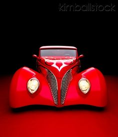 1939 Ford Coupe...Reddd  Awesomeness
