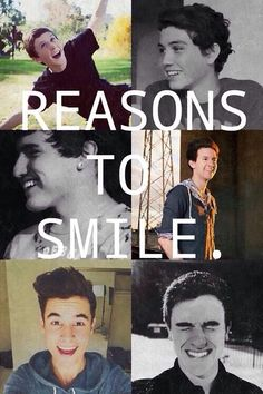 So true They are the reason I smile everyday. Thank you guys, you have really changed my life. You guys inspire me to go on I Smile, Make Me Smile, O2l Kian, Trauma, Youtube Vines, Trevor Moran, Fangirl, Bae, Ricky Dillon