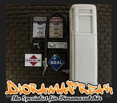Bausatz Zapfsäule Tanksäule Gilbarco Gas Pump 1/18 Tankstelle Diorama Zubehör   eBay
