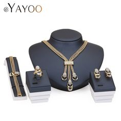 Available Now on our store:  Jewelry Sets For ... Check it out here ! http://mamirsexpress.com/products/jewelry-sets-for-women-party-accessories-tassel-pendant-statement-beads-imitation-crystal-necklace-earrings-bracelet-rings-set?utm_campaign=social_autopilot&utm_source=pin&utm_medium=pin