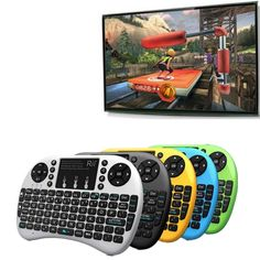 New arrival PC gaming control keys i8 wireless keyboard for android tv box tv keyboard video game