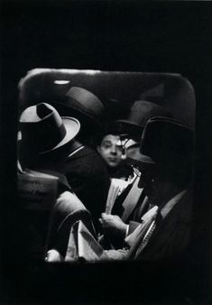 'Odd Man in', Penn Station by Louis Stettner, 1958.