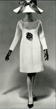 1964 - Yves Saint Laurent cocktail dress