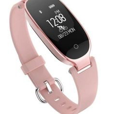 Bluetooth Waterproof Heart Rate Fitness Women Smart Watch for Android IOS