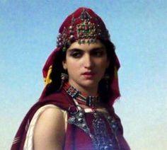 Algérie. La Kahina, « Kahina, reine des amazigh, symbole de la femme algérienne ».