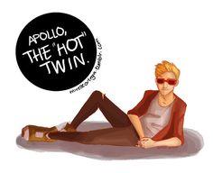 """Wow, Apollo's hot."""
