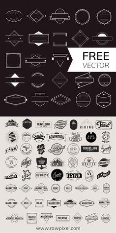 New Craft Pinecone Trees Ideas Badge Design, Label Design, Web Design, Vector Logo Design, Vintage Logo Design, Vintage Fonts, Best Logo Design, Corporate Identity Design, Branding Design