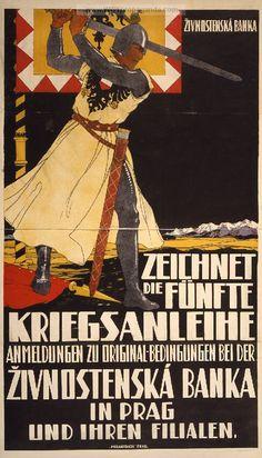 Examples of Propaganda from WW1 | Austrian WW1 Propaganda Posters Page 3