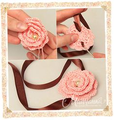 crochet spiral rose