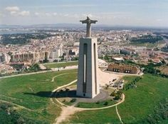 Cristo Rei, Lisbon, Portugal - Portugal has one just like Brazil!! We need pictures in front of it.
