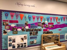 Learning Journey display in my FS1 class