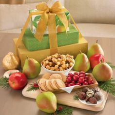 David's Gift Tower : Fruit & Snack Gift Towers | Harry & David