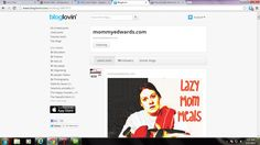 Follow www.MommyEdwards.com on bloglovin. Updates you whenever a new post is up!