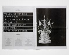 matériel magazine