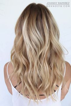 Cute Blonde Balayage Highlights