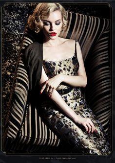 The new Lena Hoschek Catalogue for Femme Totale Collection Autumn / Winter 2014 / 15 Animal Print Fashion, Fashion Prints, Animal Prints, Glamour, Divas, Mundo Fashion, Estilo Pin Up, Mode Chic, Portraits