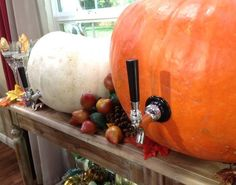 Pumpkin Decanters   KENNETH WINGARD