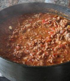 Smoked Apple & Bacon Chili - American Spice Recipes