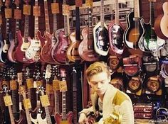 Tommy and guitars