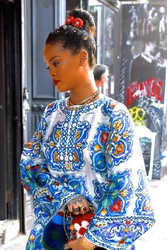 WHO: Rihanna WHERE: On the street, New York City WHEN: May 29, 2016