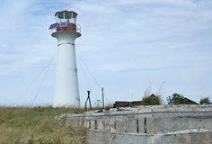 Green Island Lighthouse, Nova Scotia Canada.  Located on the summit of Green Island off Isle Madame. Latitude: 45.478139 Longitude: -60.899333