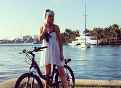 The ProdecoTech Stride 500 in Fort Lauderdale. Fort Lauderdale, Electric, Bike, Model, Fashion, Bicycle, Moda, Fashion Styles