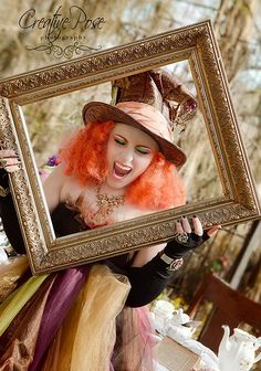 mad hatter by Creative pose photography- makeup by Salon Aries