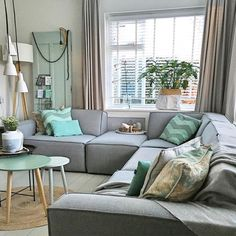 The Best 2019 Interior Design Trends - DIY Decoration Ideas Living Room Grey, Home Living Room, Living Room Decor, Small Space Interior Design, Home Design, Design Ideas, Happy New Home, Sweet Home, Home Fashion