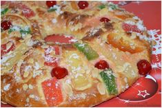 Roscón de Reyes (Sin Fermento Previo) Doughnut, French Toast, Club, Breakfast, Desserts, Food, Christmas Recipes, Cooking Recipes, King Cakes