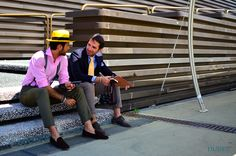 The Bespoke Dudes by Fabio Attanasio in our LOUIS Slippers