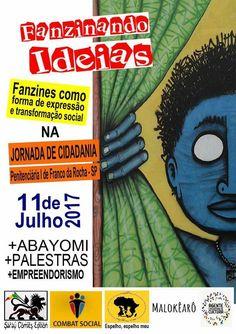 Un taller que se imparte hoy en Brasil. FanZines Como Ferramenta De Expressão & Transformação Social: https://jeremiaselblog.wordpress.com/2017/07/11/fanzines/