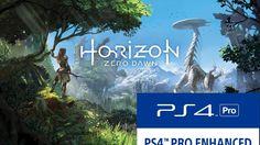 PS4 PRO 1080p Enhanced Mode in Horizon Zero Dawn