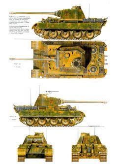 Panther Ausf. A, Panzergrenadier Division Großdeutschland, Eastern Front, 1944