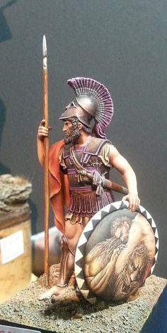 Greek Hoppalite with great shield design.