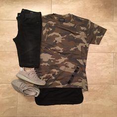 ▪️Tee: #Pacsun ▪️Tank: #FOG ▪️Pants: #Bullhead ▪️Shoes #Adidas #Yeezy350